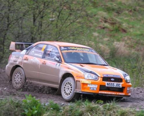 Scottish Rally Champions 2015 and 2016