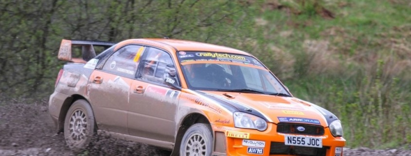 Scottish Rally Champions 2015 and 2016
