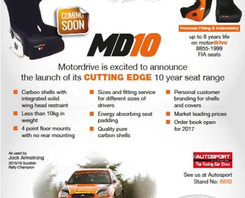 Motordrive MD10 Seat Launch