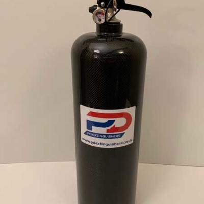 4 KG Haylo Carbon Fibre Hand Held Fire Extinguisher
