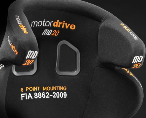 Motordrive MD20 Seat front head and shoulders